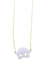 f_licie aussi Enamel Sheep Necklace - Product Mini Image