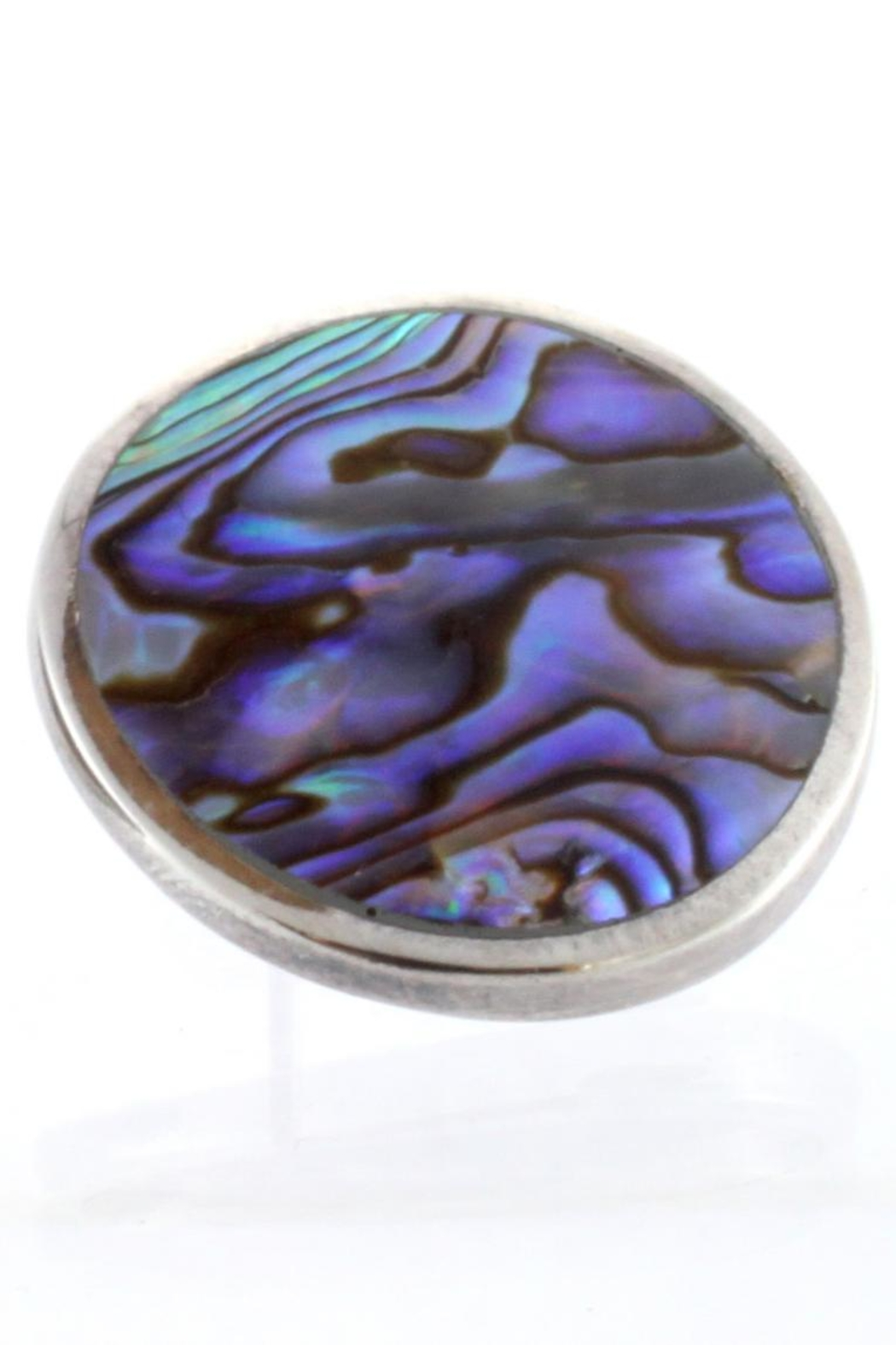 CDO  Abalone Earring Sterling - Front Cropped Image