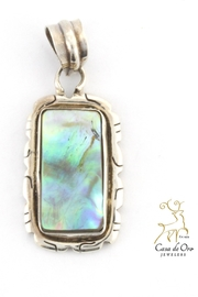 CDO  Abalone Pendant - Front cropped