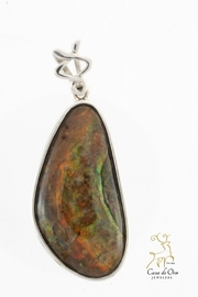 CDO  Ammolite Pendant - Front cropped