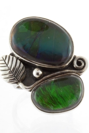 CDO  Ammolite Sterling Ring - Product Mini Image