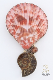 CDO  Ammonite Shell Pendant - Product Mini Image