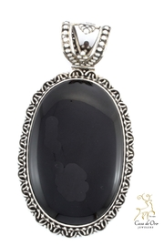 CDO  Black Onyx Pendant - Product Mini Image