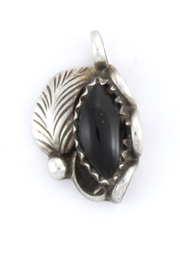 CDO  Black Onyx Pendant - Front cropped