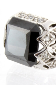 CDO  Black Onyx Ring - Front full body
