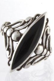 CDO  Black Onyx Ring - Front cropped