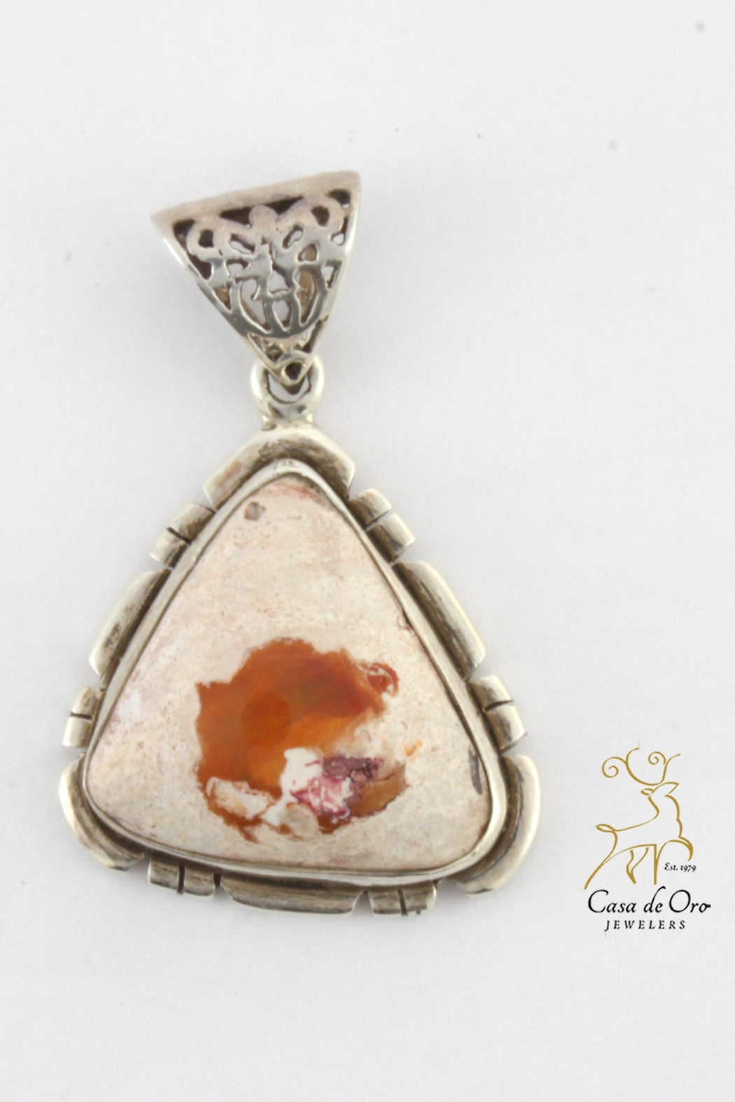 fire pendant necklace opal conch store cute product img that