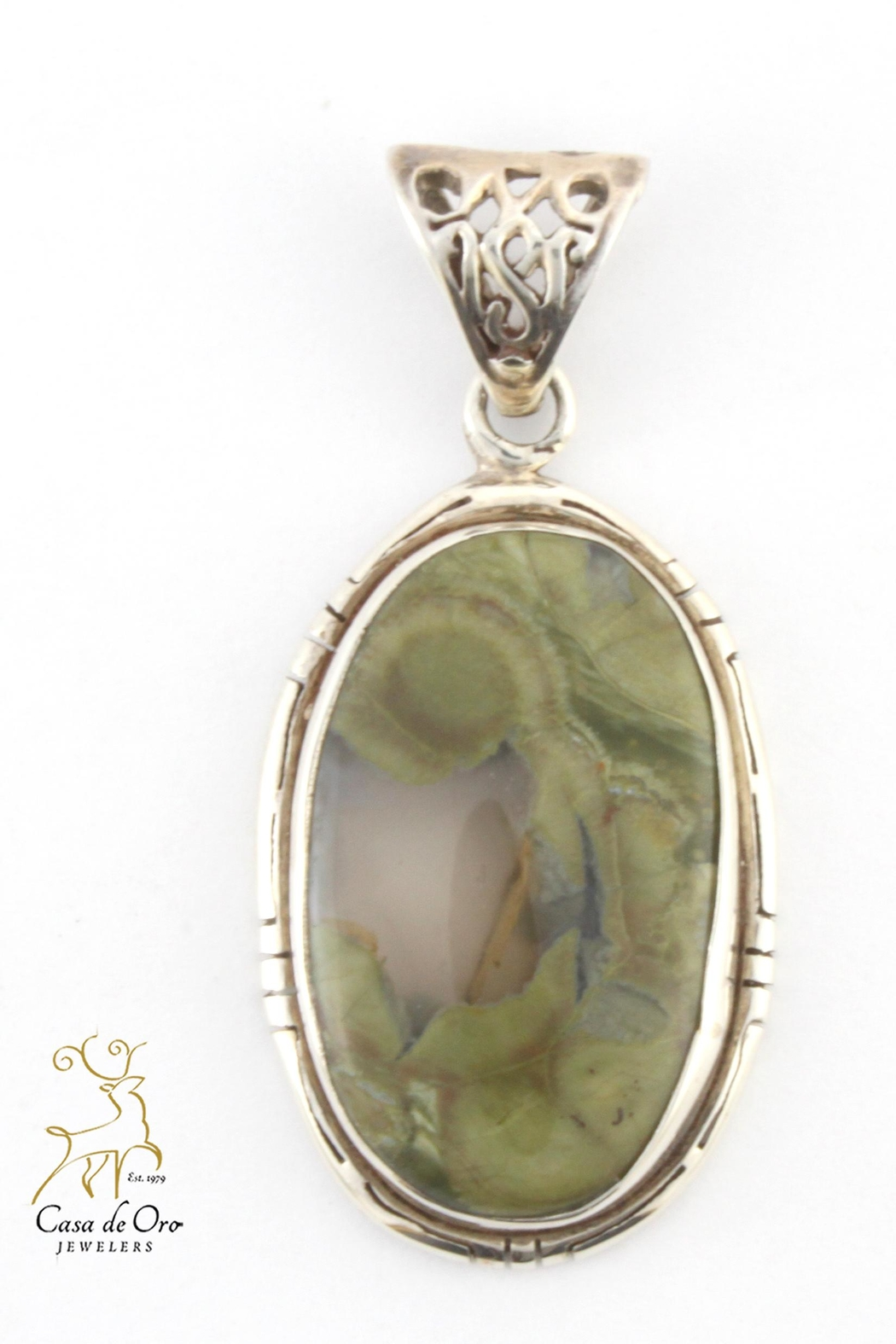 CDO  Jasper Pendant - Front Cropped Image