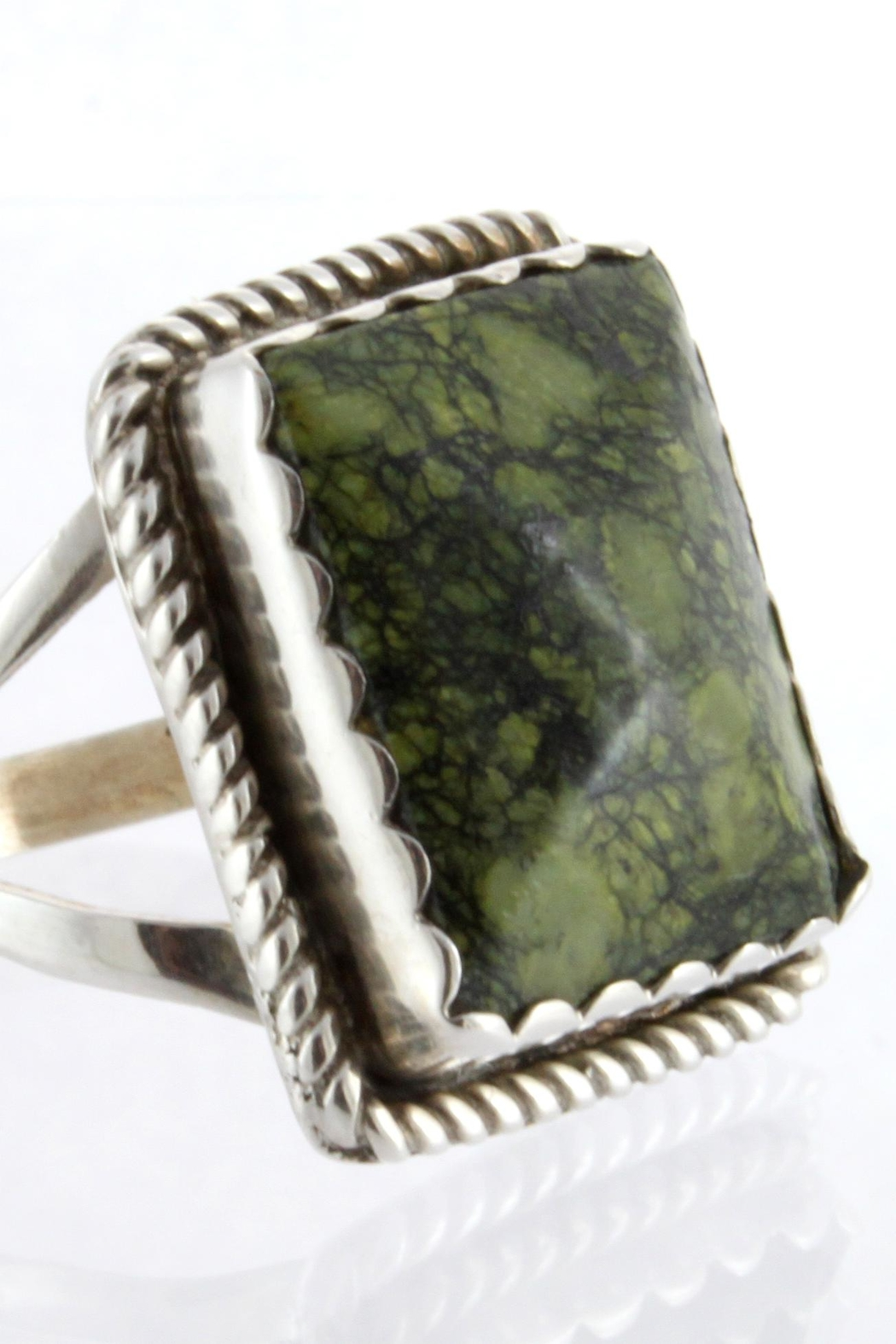 CDO  Jasper Ring Sterling - Side Cropped Image