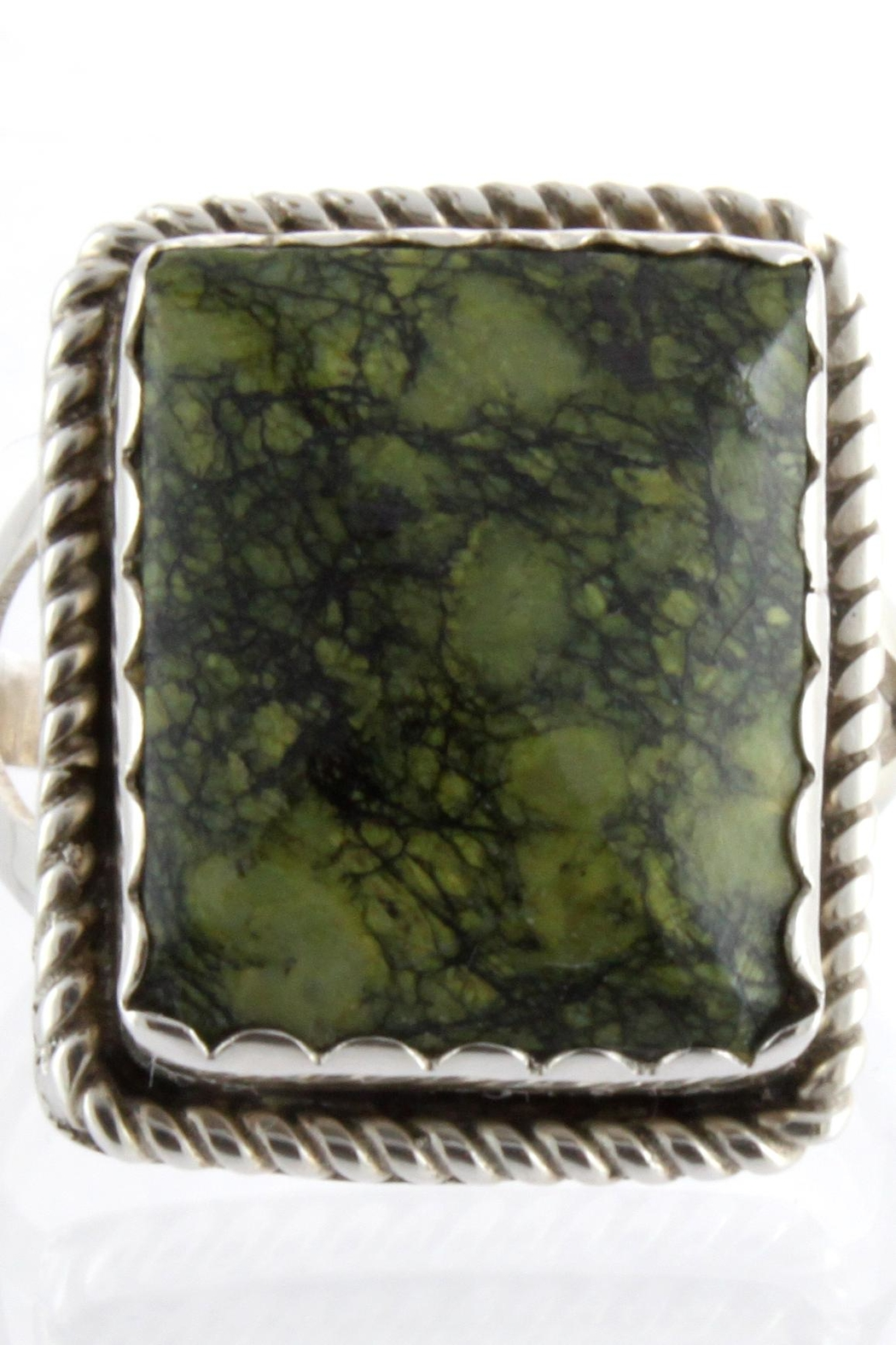 CDO  Jasper Ring Sterling - Main Image