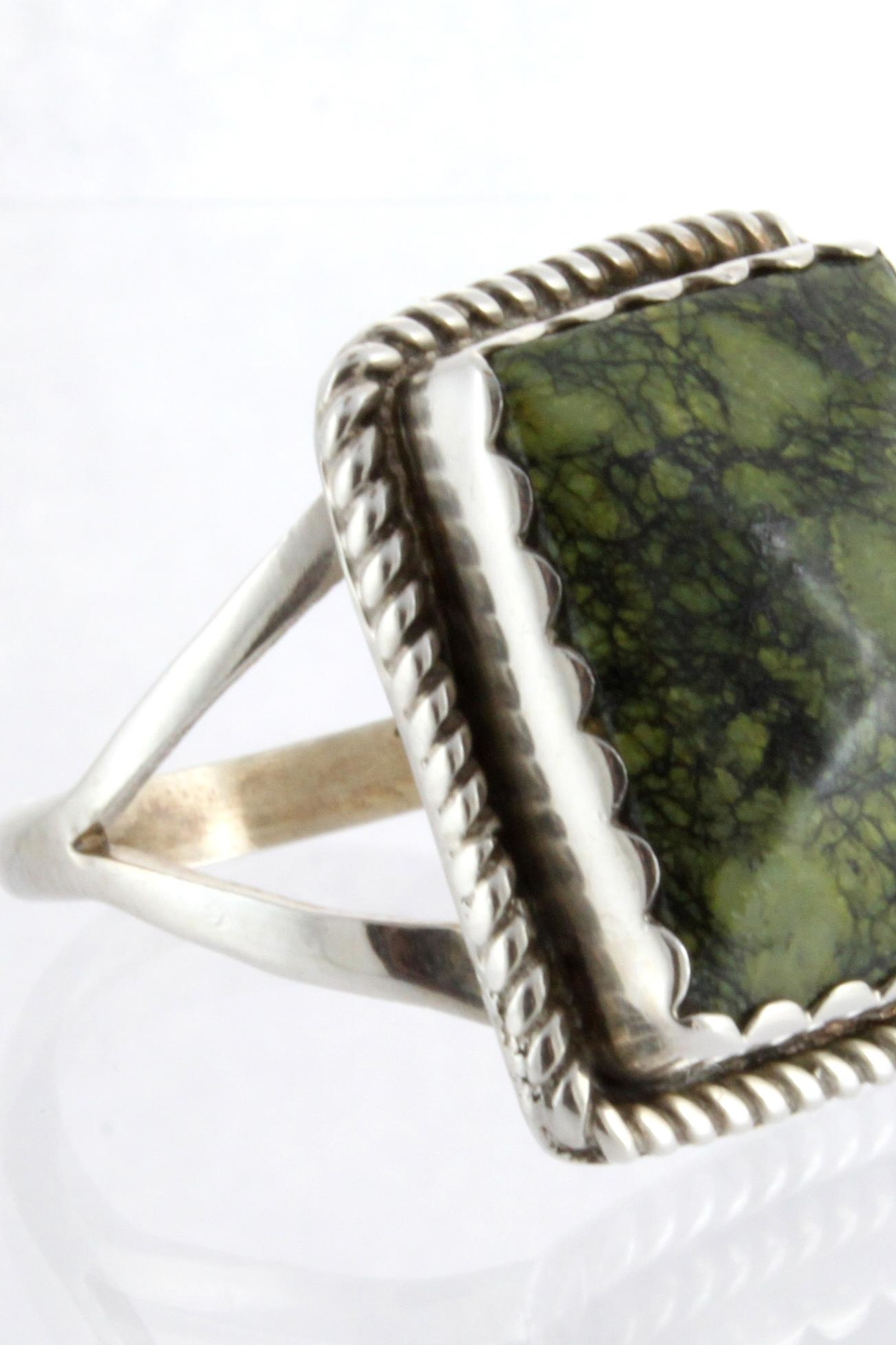 CDO  Jasper Ring Sterling - Front Full Image