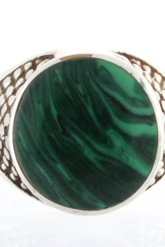 Shoptiques Product: Malachite Ring Sterling
