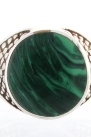 CDO  Malachite Ring Sterling - Product Mini Image