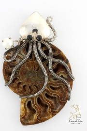 CDO  Octopus Ammonite Pendant - Product Mini Image