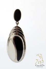 CDO  Onyx Pearl Earrings - Product Mini Image