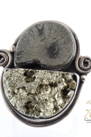 CDO  Pyrite Ammonite Ring - Product Mini Image