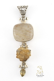 CDO  Rutilated Quartz Pendant - Product Mini Image