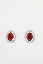 CDO  Simulated Ruby Earrings - Product Mini Image