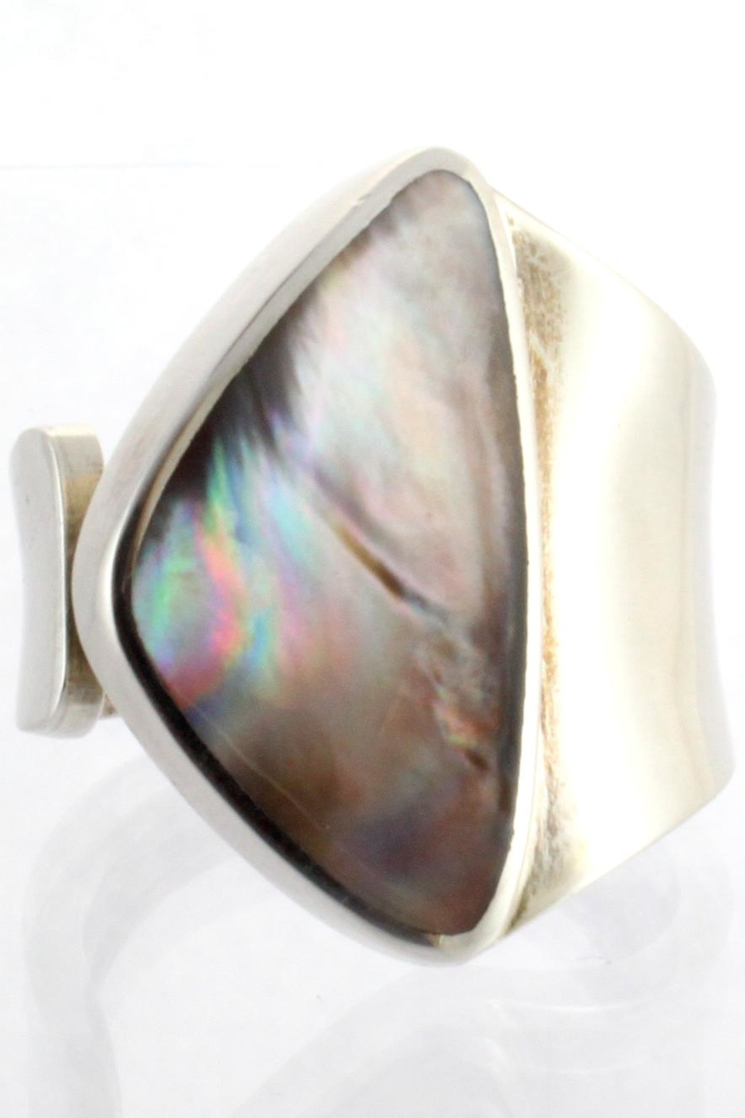CDO  Sterling Oyster Ring - Front Full Image