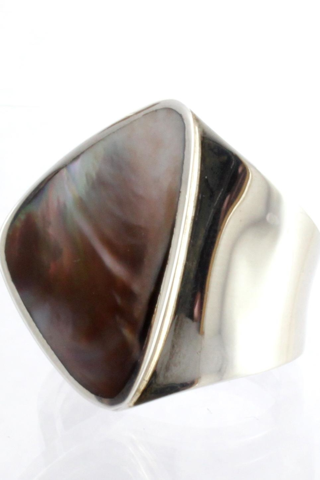 CDO  Sterling Oyster Ring - Main Image