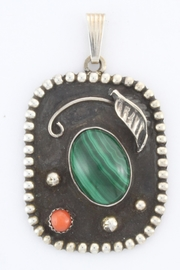 CDO  Sterling Silver Pendant - Front cropped
