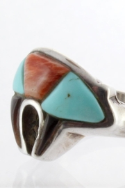 CDO  Sterling Turquoise Ring - Front full body