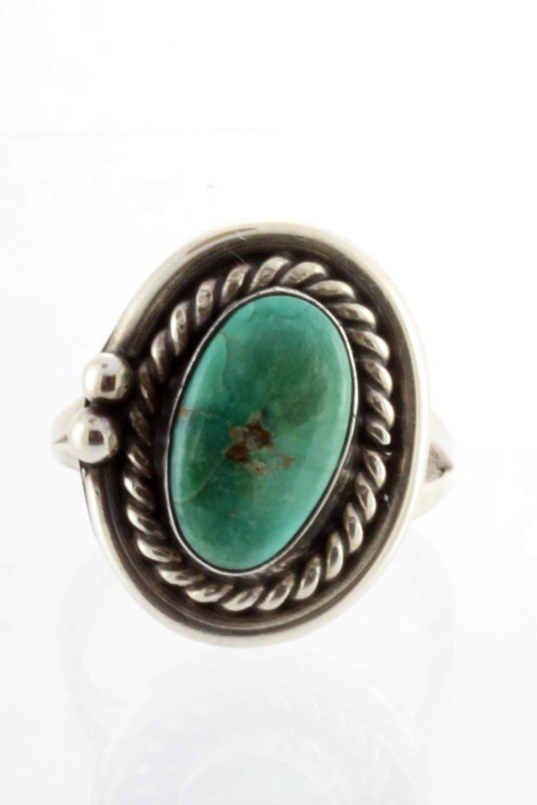 CDO  Sterling Turquoise Ring - Main Image