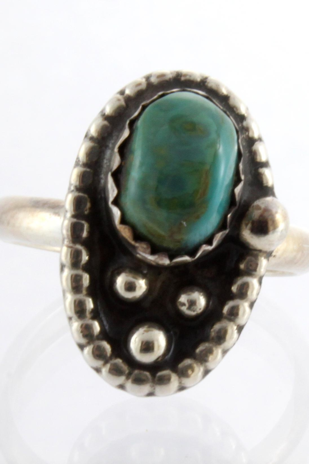 CDO  Turquoise Sterling Ring - Main Image