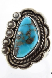 CDO  Turquoise Sterling Ring - Product Mini Image