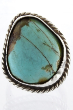 Shoptiques Product: Turquoise Sterling Ring