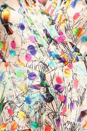 A79 Print Pleated Romper - Side cropped
