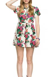 re:named Lucid Floral Romper - Product Mini Image