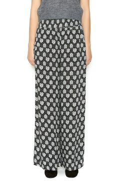 Shoptiques Product: Gray Flower Palazzo Pants