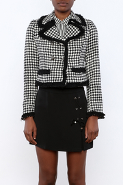 Cecico Houndstooth Jacket - Side cropped