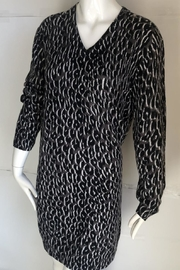Equipment Cecile Leopard-Print Sweater-Dress - Front cropped