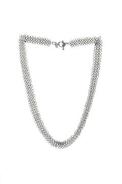 Shoptiques Product: Stainless Wide Necklace