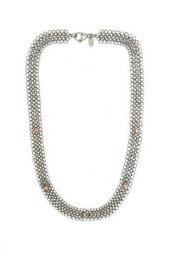 Cecilia's Steel Steel Blush Necklace - Product List Image