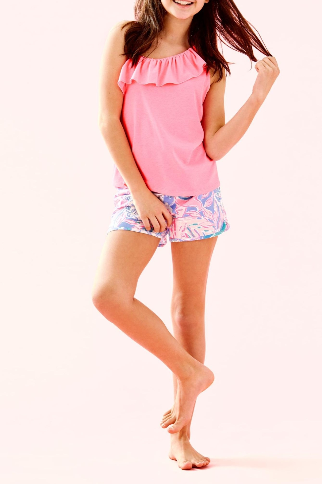 Lilly Pulitzer Ceclie Short - Front Full Image