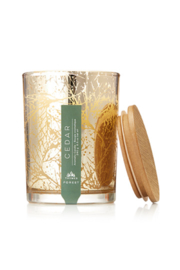 The Birds Nest CEDAR POURED CANDLE-FOREST COLLECTION - Front cropped