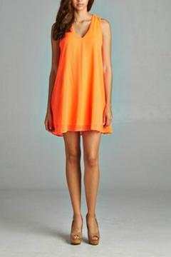 Shoptiques Product: Sherbet Chiffon Dress