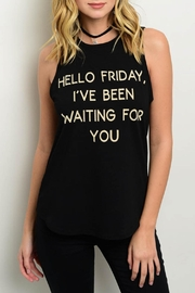 Cefian Friday Tank Top - Product Mini Image