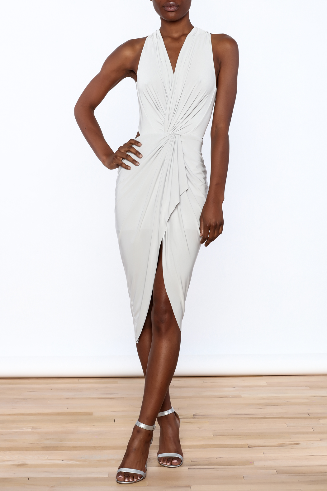 Cefian Halter Neck Dress - Main Image