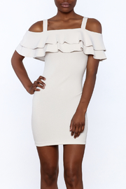Cefian Ruffle Bodycon Dress - Product Mini Image