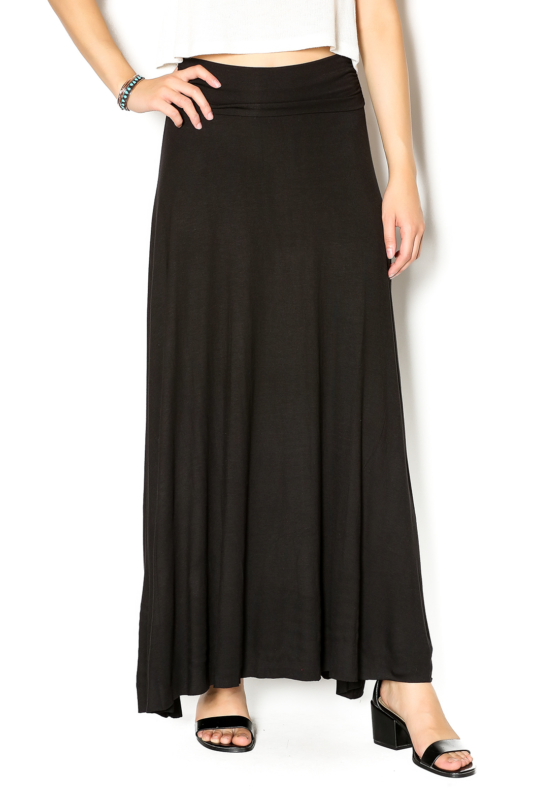 couture maxi skirt from new york by s