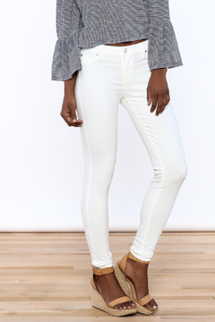 Celebrity Pink  White Stretch Skinny - Product List Image
