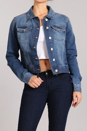 Celebrity Pink  Denim-Jacket - Product Mini Image
