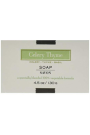 The Birds Nest CELERY THYME SOAP - Product Mini Image