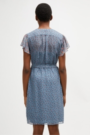 French Connection Celestial Sheer Dress - Back cropped
