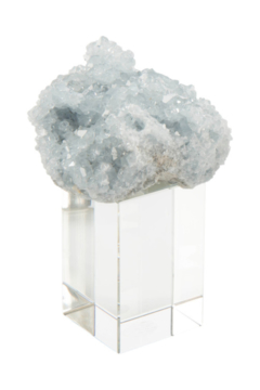The Birds Nest CELESTITE ON CRYSTAL - Alternate List Image