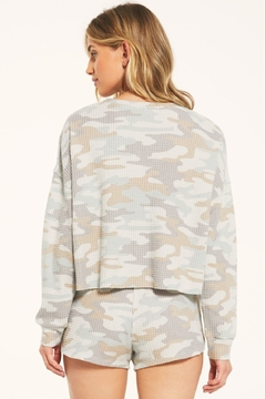 Z Supply  Celine Camo Long Sleeve - Alternate List Image